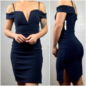 City Studio Navy Blue cocktail dress sz 3/Small